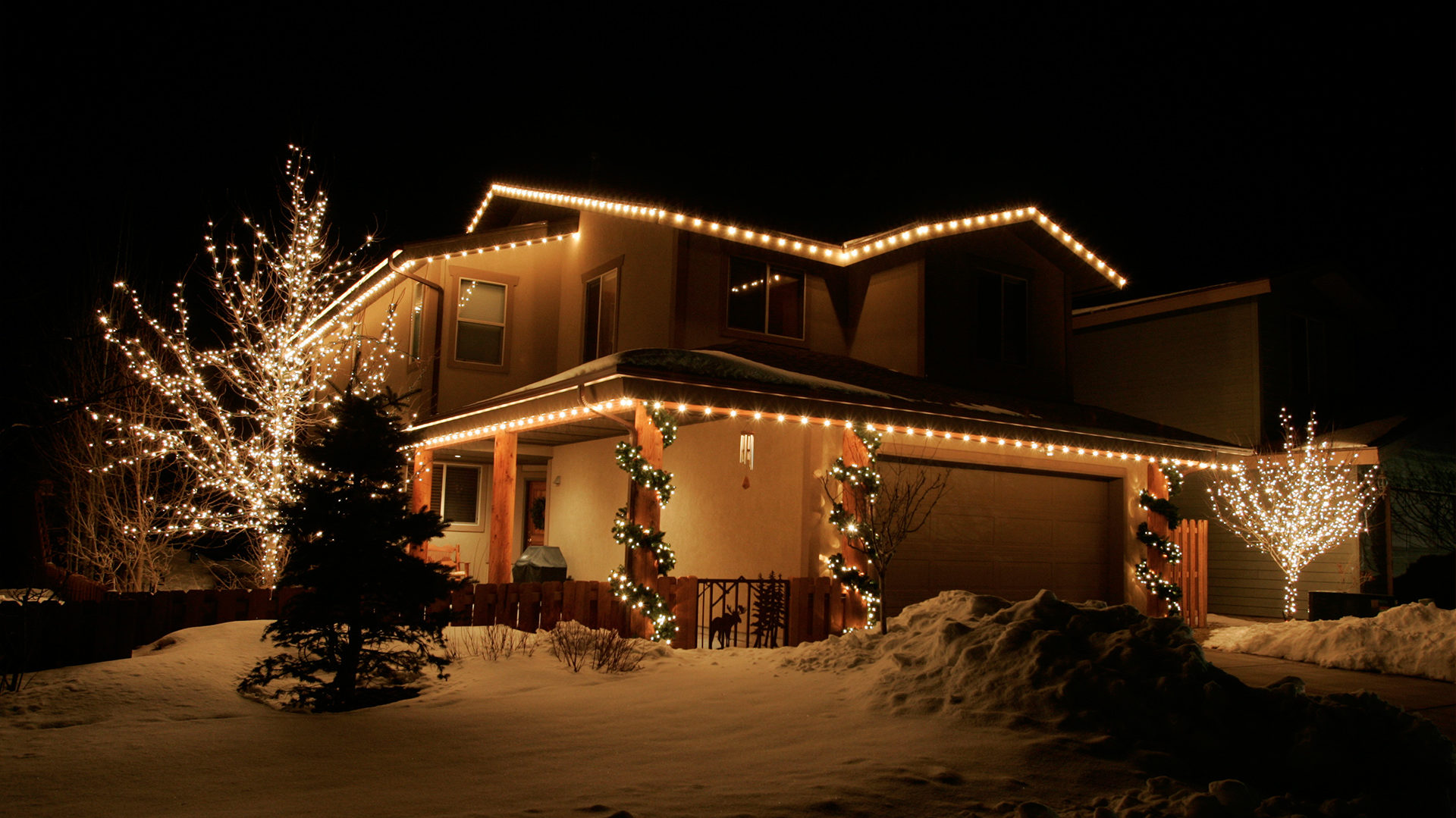 headman christmas lighting